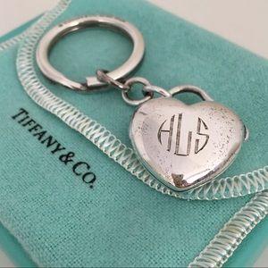 Tiffany & Co. Sterling Silver Key Ring Locket